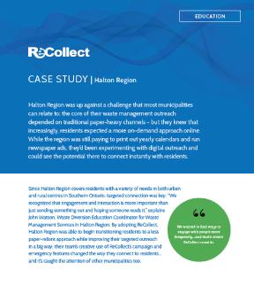 Case Study - Halton Region